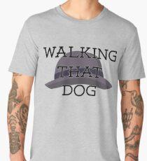 Walking That Dog! Men's Premium T-Shirt