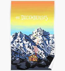 The Decemberists - Cabin in the Mountains Poster Poster