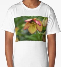 Heavenly Lenten Rose Long T-Shirt