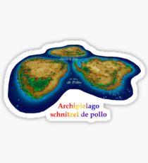 Schnitzel Archipelago Sticker