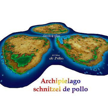 Schnitzel Archipelago by davidfraser