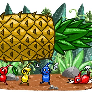 Pineapple Pikmin by kathuman