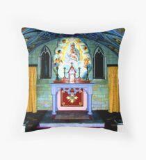 the Italian chapel Lamb Holm, Orkney Throw Pillow