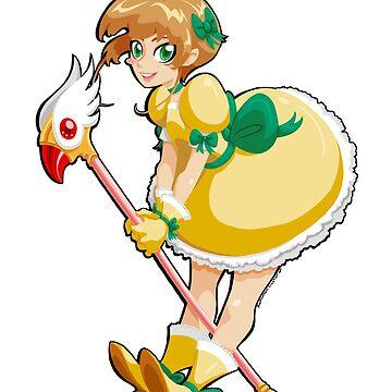 Cardcaptor Sakura's Yellow Dress by kathuman