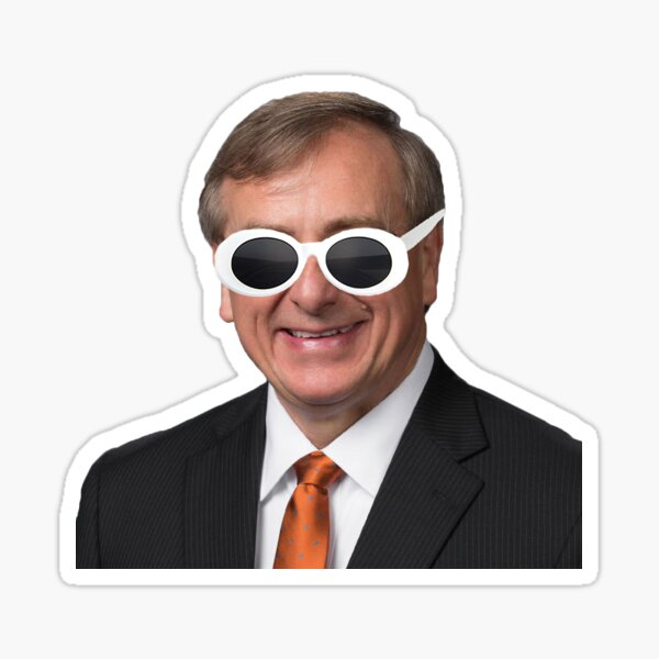 Präsident Fuchs Clout Sticker