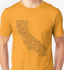Bike California  T-Shirt