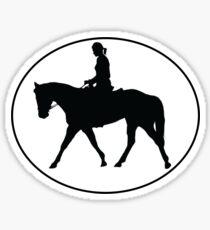 Horseback Rider Sticker