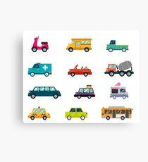 Cars Canvas Print