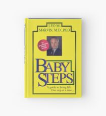 Baby Steps by Dr. Leo M. Marvin, M.D., Ph.D. Hardcover Journal