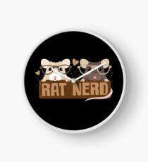 RAT NERD (Self proclaimed expert about RATS) Clock