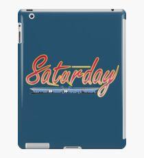 Saturday iPad Case/Skin