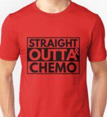 Straight Outta Chemo Shirt - Breast Cancer Warrior Shirt T-Shirt