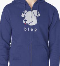 Blep Zipped Hoodie