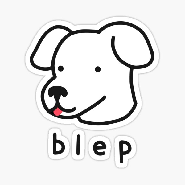 Blep Sticker