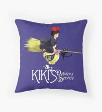 Kiki's Delivery Service-Studio Ghibli Throw Pillow