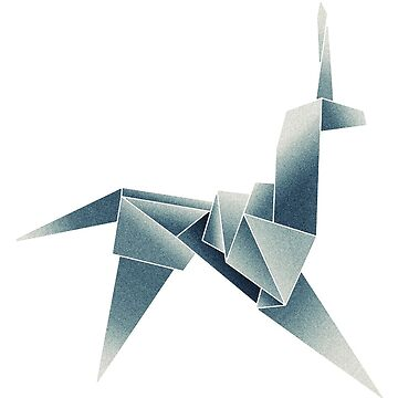 Origami unicorn  by sonorosan