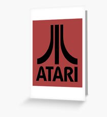 atari - our shamans and our sacred books. Let us keep Greeting Card