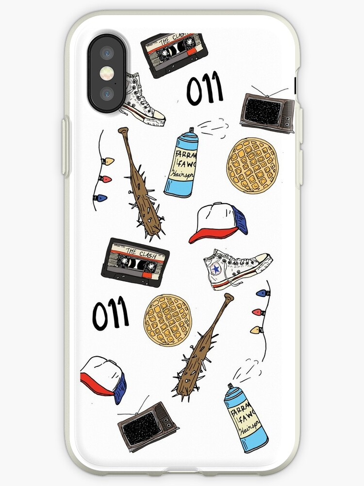 official photos 88b86 1e280 'Stranger Things Art Sticker Phone Case' iPhone Case by mountainwoman