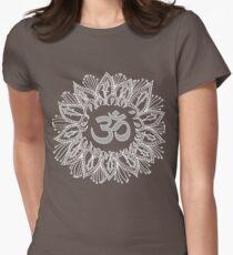 Om mandala in white T-Shirt
