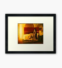 The Annunciation 1898 Henry Ossawa Tanner Framed Print