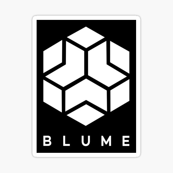 Blume Corporation Sticker