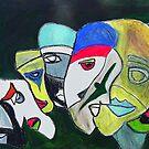 Mardi Gras by Ming  Myaskovsky
