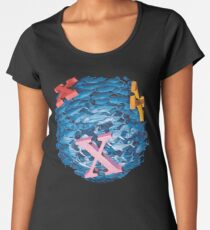 'X' Marks the Spot Women's Premium T-Shirt