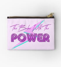 The Babe With The Power  Studio Pouch