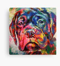 Bull Mastiff Puppy Canvas Print