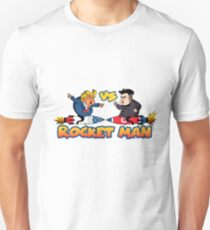 Rocketman Vs The Dotard Unisex T-Shirt