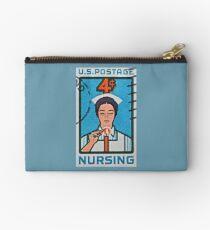 """""""1962 Nursing Stamp"""" Studio Pouch"""