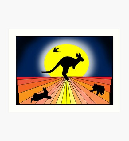 Quintessential Oz  Art Print