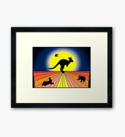 Quintessential Oz  Framed Print