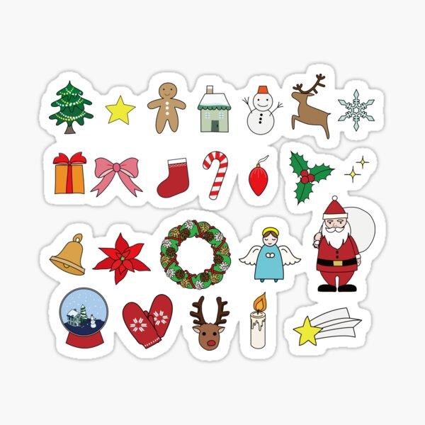 Cute Christmas item Sticker