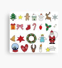 Cute Christmas item Canvas Print