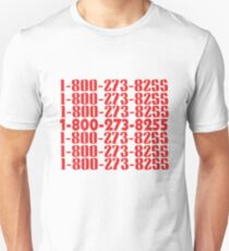 1-800-273-8255 logic everybody Unisex T-Shirt