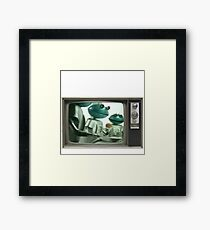 Smash Framed Print