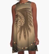 Honor and Strength A-Line Dress