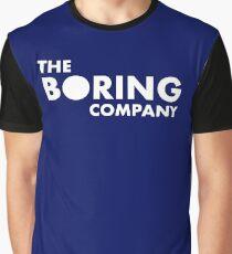 Infrastruktur und Tunnelbau Die langweilige Firma Grafik T-Shirt
