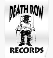 Death Row Records Hoodie / Long Sleeve / Tee T-Shirt Poster