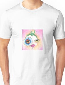 Flower eye  Unisex T-Shirt