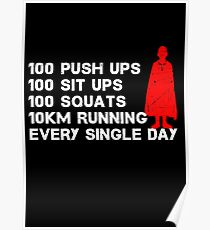 100 Push Ups Posters | Redbubble