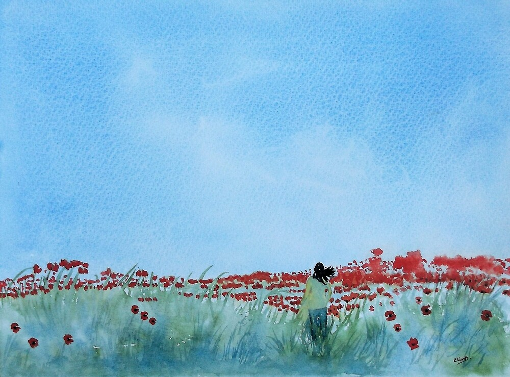 Where Poppies Grow (2)  by Pat  Elliott