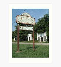 The Avon Motel on Historic Route 66 Art Print