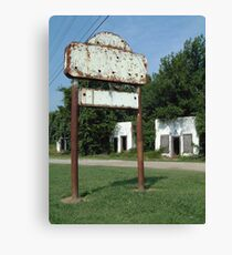 The Avon Motel on Historic Route 66 Canvas Print