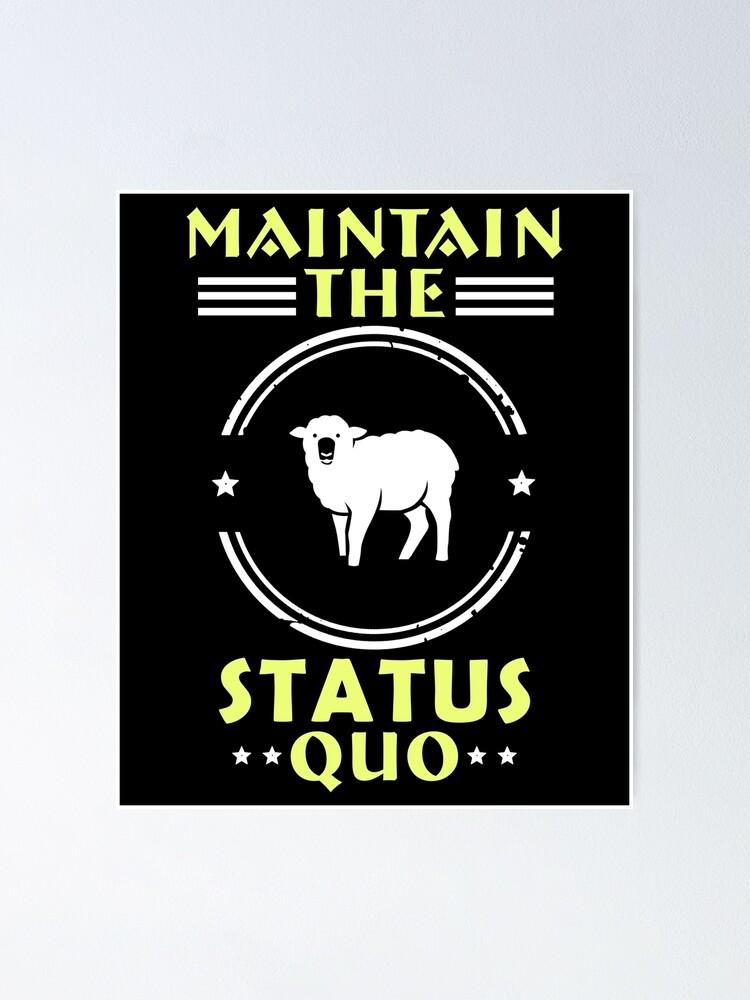 Alternate view of Vintage Anarchy Protest - Retro Riot Art | Political Activist Anarchist - Anti Illuminati Activism Poster