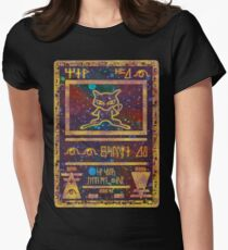 Ancient Mew - Pokemon  Women's Fitted T-Shirt
