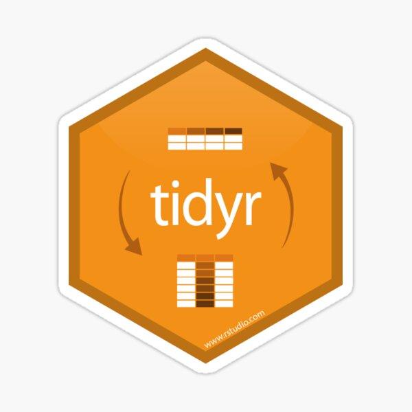 tidyr -- tidyverse library Sticker