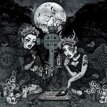 Graveyard Girls by CherryMartini