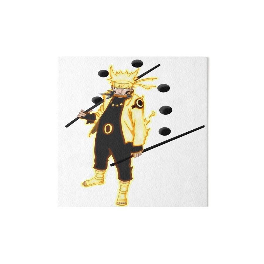 Uzumaki naruto six paths sage mode art boards by - Naruto boards ...